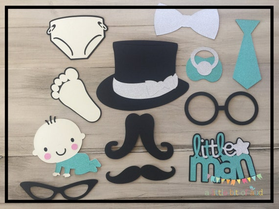 Mustache Baby Shower Decorations Baby Boy Shower Decorations