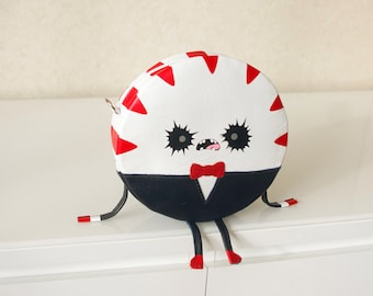 Peppermint Butler Leather Purse