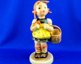 Full Bee Little Shopper Hummel Figurine