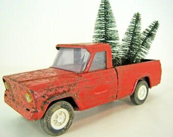 Reserved for Christolphe Three Bottle Brush Christmas Trees