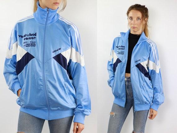 ADIDAS Windbreaker Adidas Track Jacket Vintage Adidas Windbreaker 90s Windbreaker Adidas 90s Adidas Track Jacket Blue Tracksuit Adidas Retro