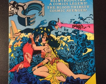 Comet # 1 Comic by Red Circle Comics