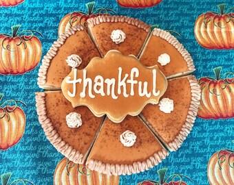 Pumpkin Pie Thanksgiving Cookies