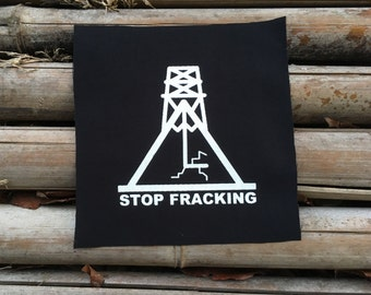 Stop Fracking Patch