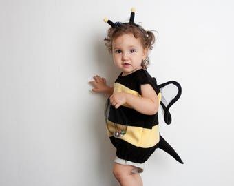 Bumble Bee Costume, Toddlers Halloween Costume, Party Costume, Girl Halloween Costume, Toddler Bee Costume, Bumblebee