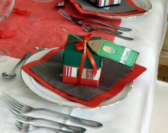 Great for 6 party table decorations