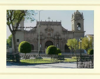 Set of 3 Ayacucho, Peru churches