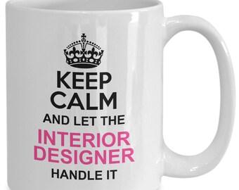 Interior designer gift, funny interior designer coffee mug - ceramic tea cup gift for interior designers