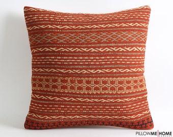20x20 vintage pillow, kilim, throw pillow, decorative pillow, needlepoint pillow, pillow, accent pillow, bohemian pillow, embroidered pillow