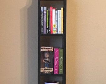 3ft Narrow Custom Bookshelf/DVD shelf