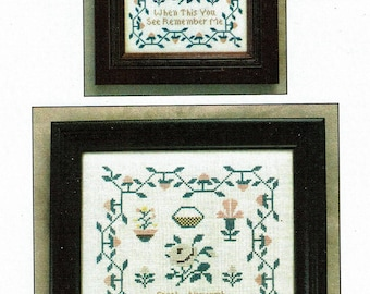 Sarah Ainsworth Sampler by Milady's Needle Counted Cross Stitch Pattern/Chart
