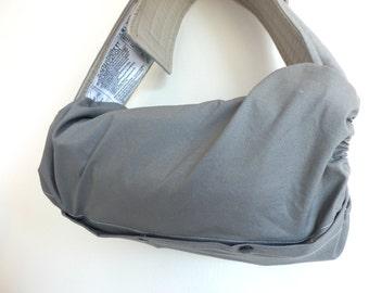 Baby carrier pod/bag/sack/storage  for  Ergo, Tula, Boba, Beco, Manduca, etc...-Charcoal grey
