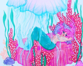 Bed Mermaid Original