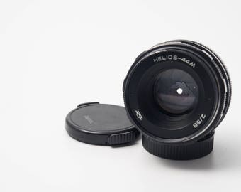 Helios 44m  f2/58mm M42 mount lens