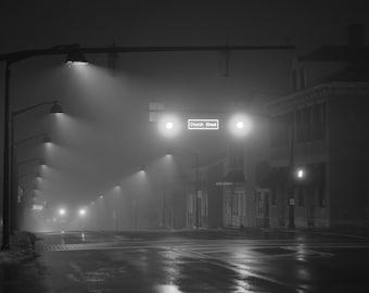 Foggy Streetview