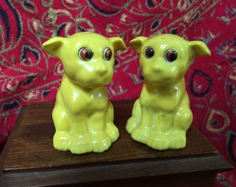 Japan Bonzo dogs Salt and Peppers
