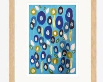 "Limited Edition Digital Print ""Antigua Blooms"""