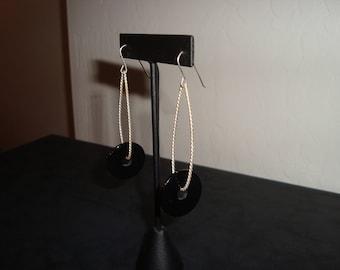 Sterling Silver BAKELITE earrings