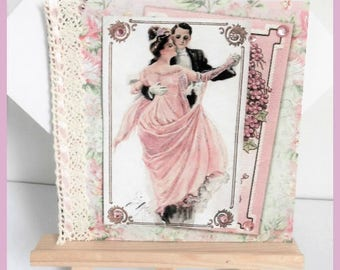 card any occasion vintage couple dancing
