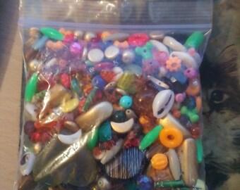 big mix of beads