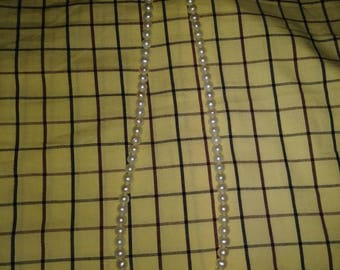 Vintage Pearl and Sterling Necklace