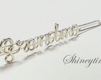 BEST Personalized GIFT / Name Bookmark / personalized bookmark / wire name bookmark /mom and grandma gift