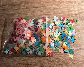 Confetti Flowers (1200 pieces) with optional colour, Confetti pieces, paper flowers