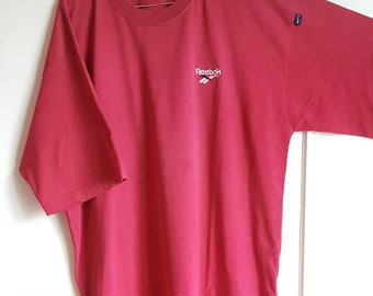 T-shirt Reebok Vintage 90's Made in Europe size XL.