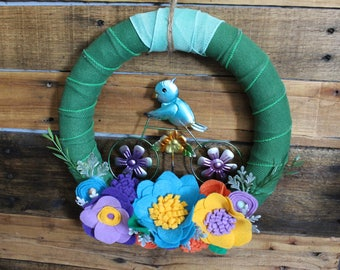 12 inch Summer Wreath