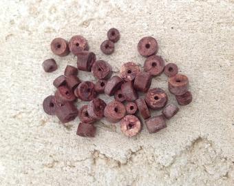 Wood Brown bead