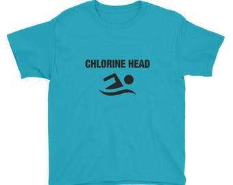 Chlorine Head Youth Short Sleeve T-Shirt