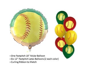 Girls Fastpitch Balloons