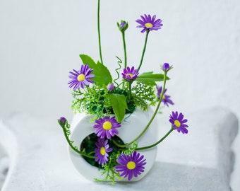 Daisy- Air Dry Clay Flowers