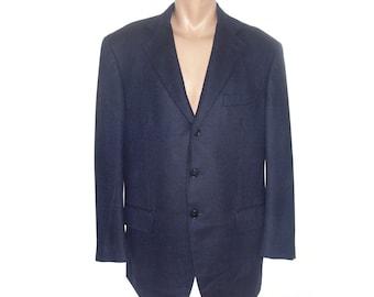 Corneliani Men Wool Blazer Sport coat Mens Vintage Formal blazer Suit blazer gents jacket Super 100s men Made in Italy Striped Sv8Twk3qUJ