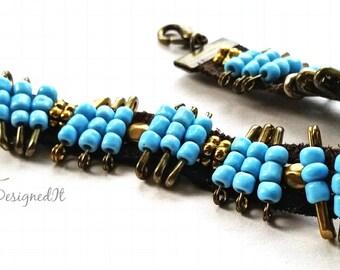 safty pin bracelet