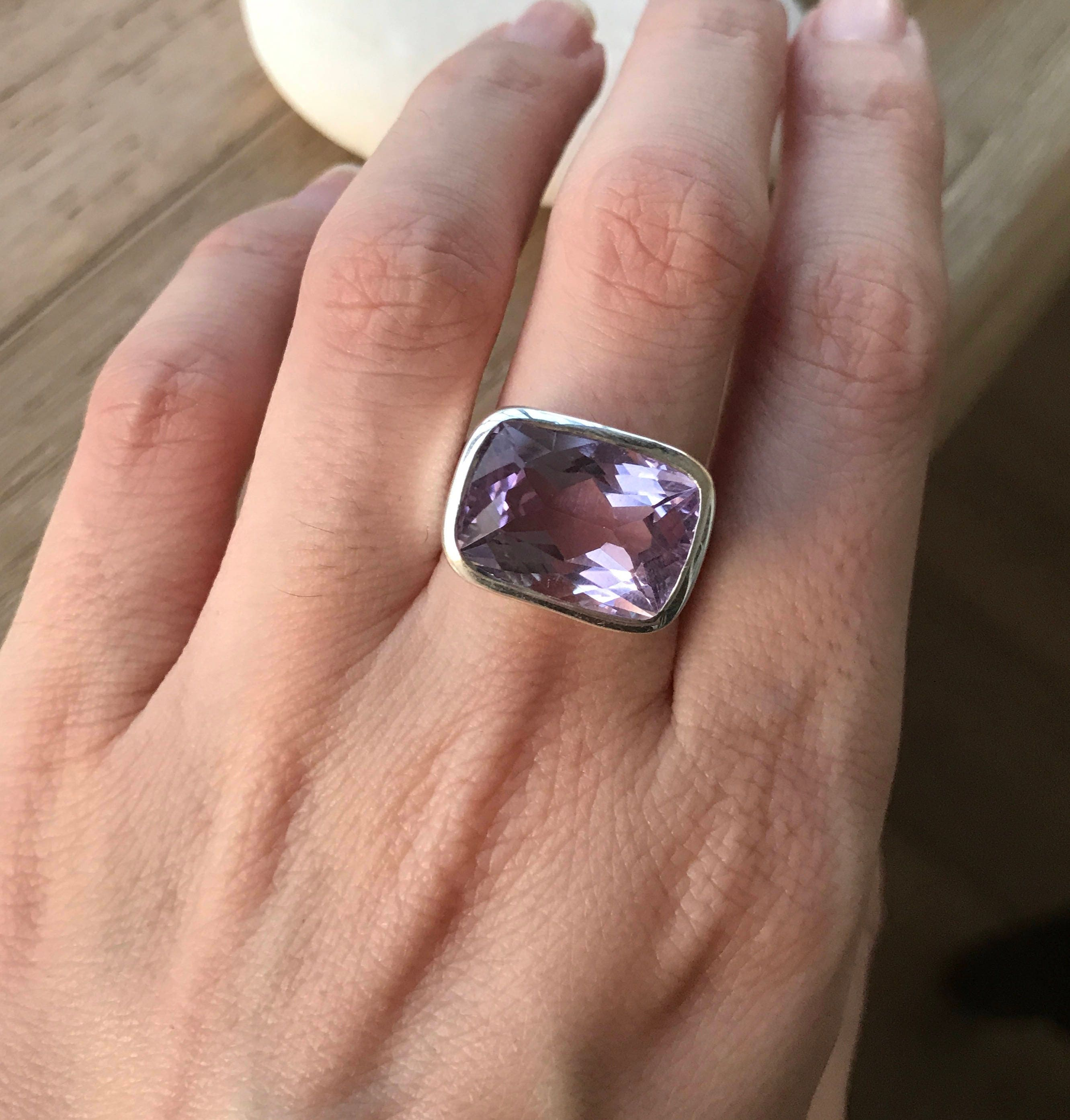 valerie birthstone february ring engagement mother products s amethist kiss rings diamond amethyst