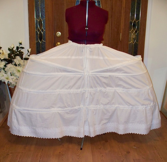 Marie Antoinette Dress Costume Extra wide Panniers 48 inches 122 cms wide