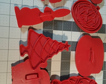 Classic vintage Tupperware Cookie Cutters