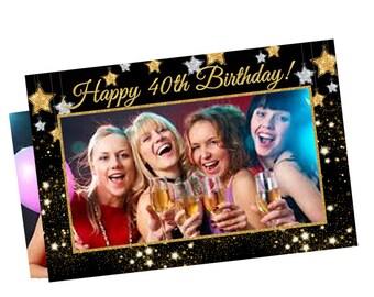 birthday photo props, birthday photo booth frame, party booth, photo booth party props, birthday props, selfie frame, birthday party props