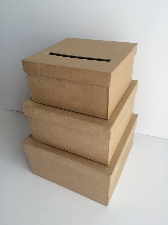 DIY Wedding Card Box Holder Gift