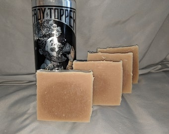 """Hand-Made Craft Beer Soap - The Alchemist """"Heady Topper"""" Unscented Vermont Craft Beer Soap"""