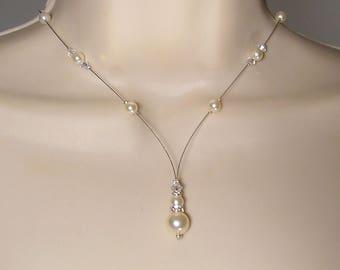 Bridal Swarovski Collection Glamour necklace Kelly - MARIAGE CÉRÉMONIE ♥ ♥