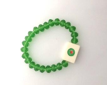 Mighty One Dot Mahjong Bracelet