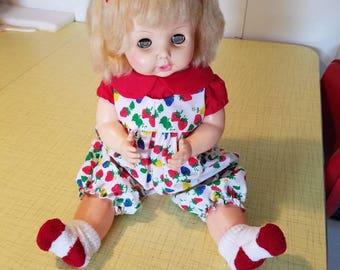 Large Vintage 1969 Horsman Doll
