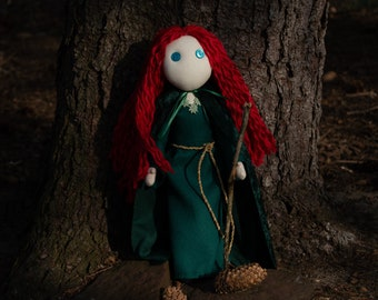 Celtic Witch Doll