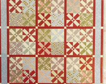 Patrick's Patchwork II Quilt Pattern by Minick and Simpson - DOWNLOAD