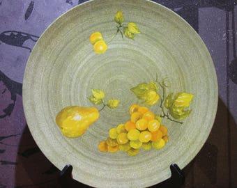 Vintage 1970's Melamine Large Serving Plate