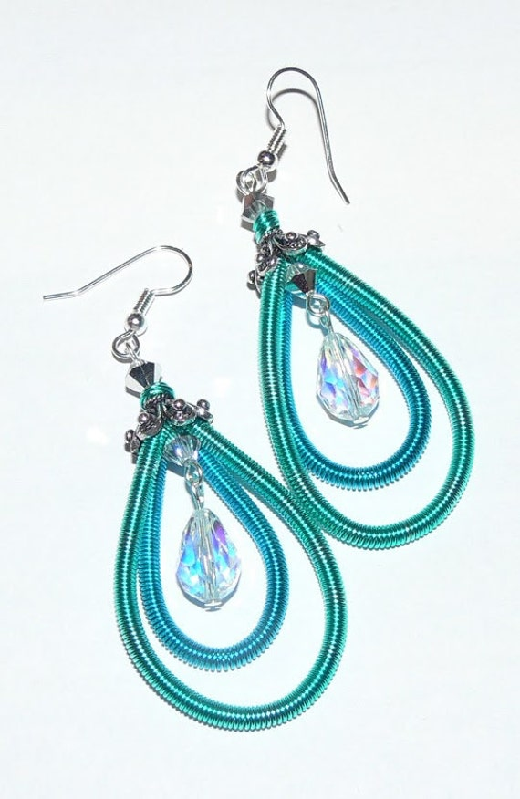 Earring Beading Kit + Tutorial | Easy Wirework Coiling Gizmo ...
