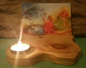 Candle andCard Holder