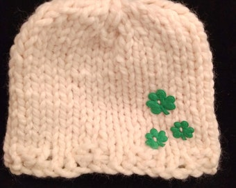 Shamrock hat for toddlers